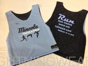 Custom Track Pinnies