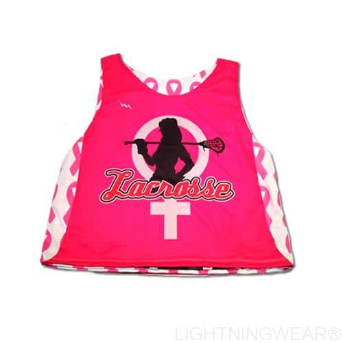 womens sublimated lacrosse pinnies