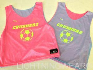 Design Your Own Soccer Pinnies