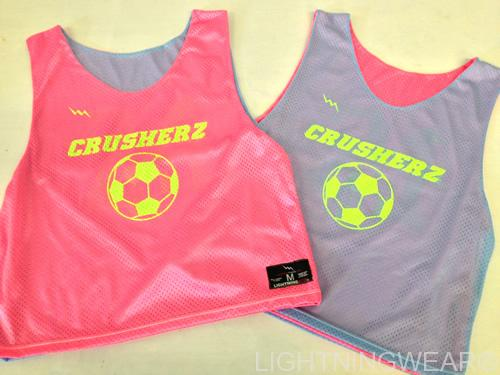 crusher soccer pinnies