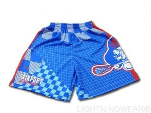 custom blue lacrosse shorts