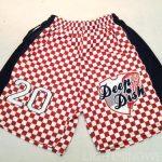 Sublimated Checker Board Lacrosse Shorts