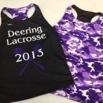 Purple Racerback Pinnies