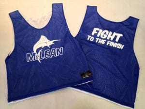 McLean Swimming Pinnies