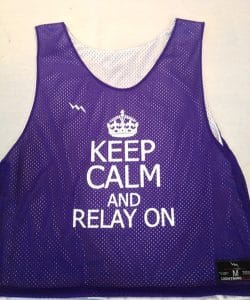 Calm Relay Purple White Pinniesn