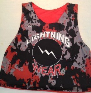 lightning wear lacrosse pinnies