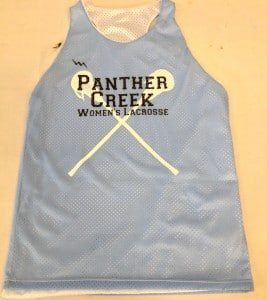 Panther Creek Womens Lacrosse Pinnies