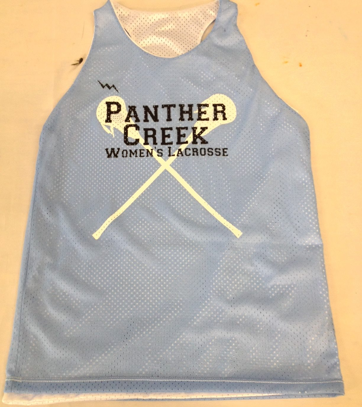panther creek lacrosse pinnies