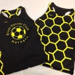 Soccer Pinnies Girls