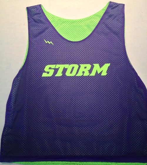 storm lacrosse pinnies