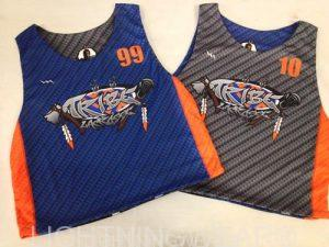 tribe lacrosse pinnies