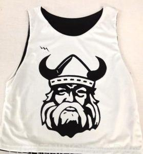 custom team pinnies