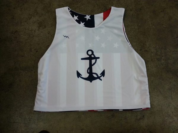 anchor lacrosse pinnies
