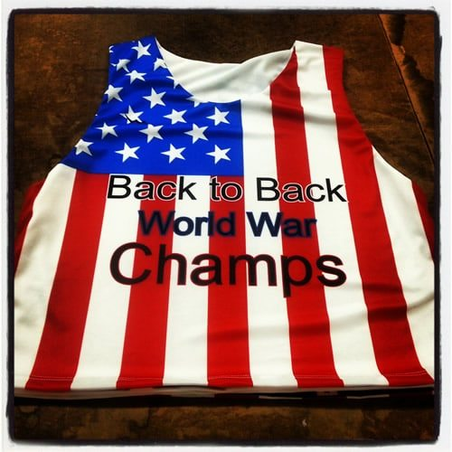 back to back world champion pinnies