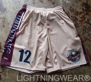 custom made lacrosse short