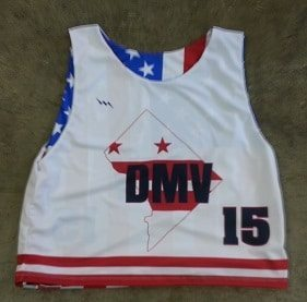 dmv lacrosse pinnies