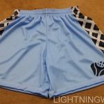 Womens Blue Lacrosse Shorts
