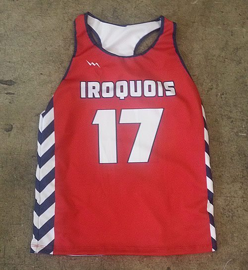 iriquois lacrosse pinnies