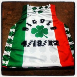 irish flag pinnies