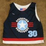 Operation Homefront Lacrosse Pinnies – Custom Lax Jerseys