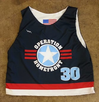 operation homefront lacrosse pinnies