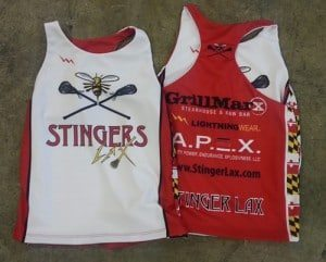 stingers lacrosse camp pinnies