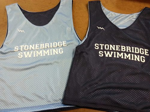 stonebridge swimming pinnies