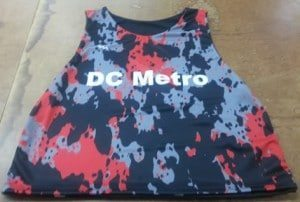 DC METRO lacrosse pinnies