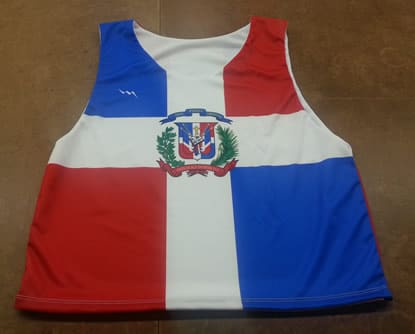 dominican republic pinnies