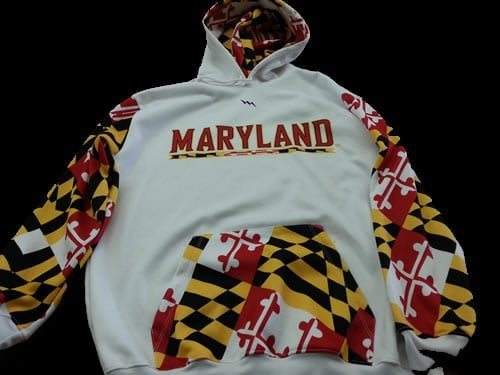 maryland sweatshirts - maryland flag sweatshirts