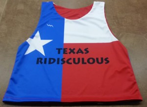 texas lacrosse pinnies