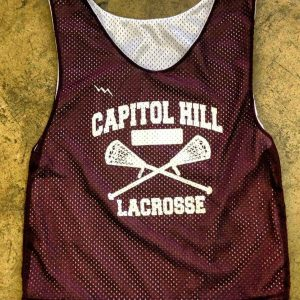Capitol Hill Lacrosse pinnies
