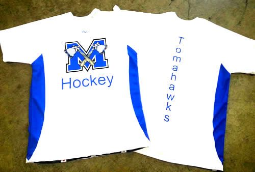 hockey warmup shirts