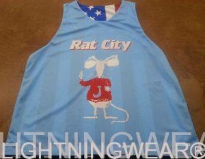 Sublimated Basketball Shirts