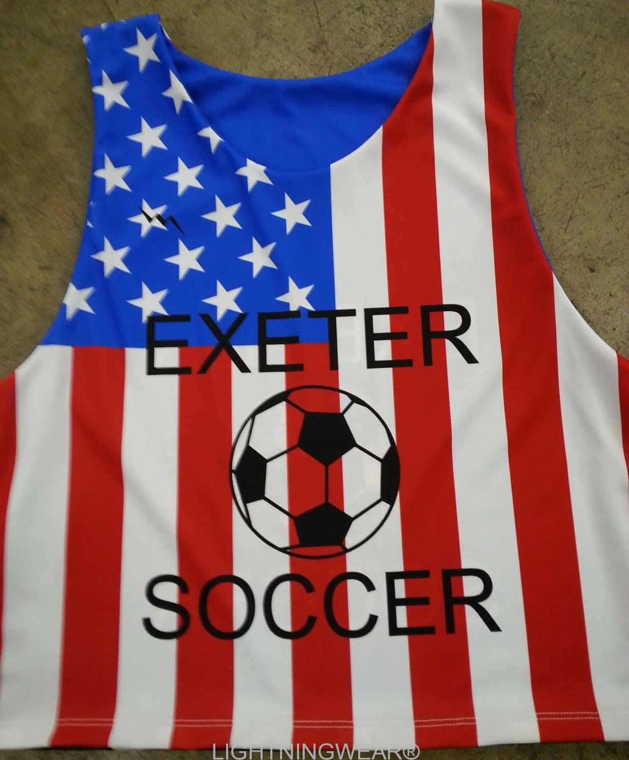 american flag pinnies