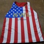 American Flag Racerback Pinnies – Custom American Flag Jerseys
