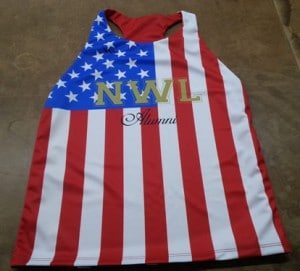 american flag racerback pinnies