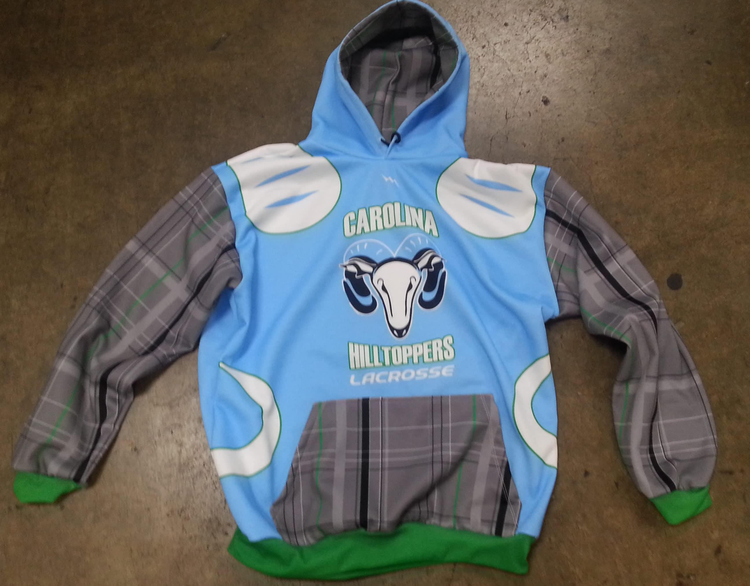 custom lacrosse sweatshirt