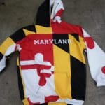 Maryland Flag Hoodies