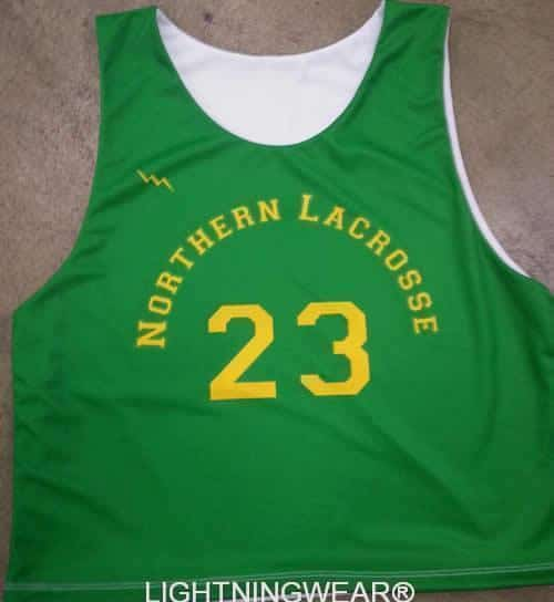 northern lacrosse pinnies