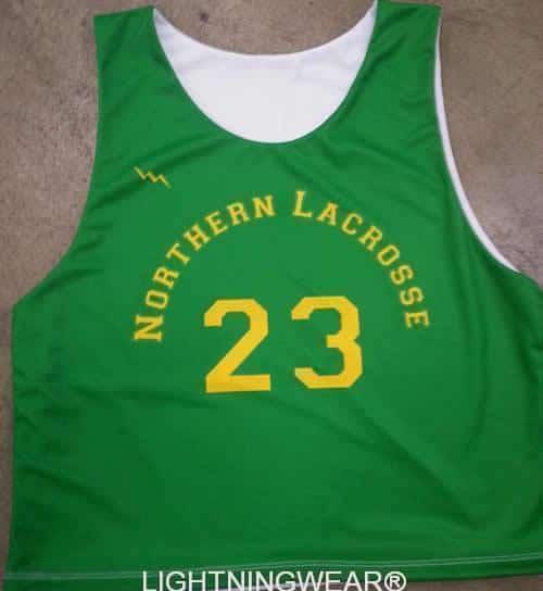 northern lacrosse pinnies