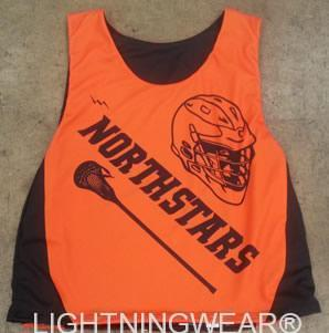 northstars lacrosse pinnie