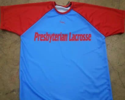 presbyterian lacrosse shirts - Custom shooter shirts