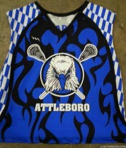attleboro lacrosse pinnies