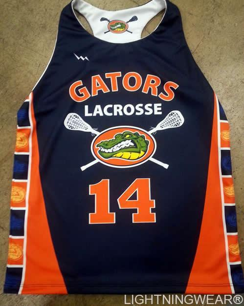 gators womens lacrosse pinnies