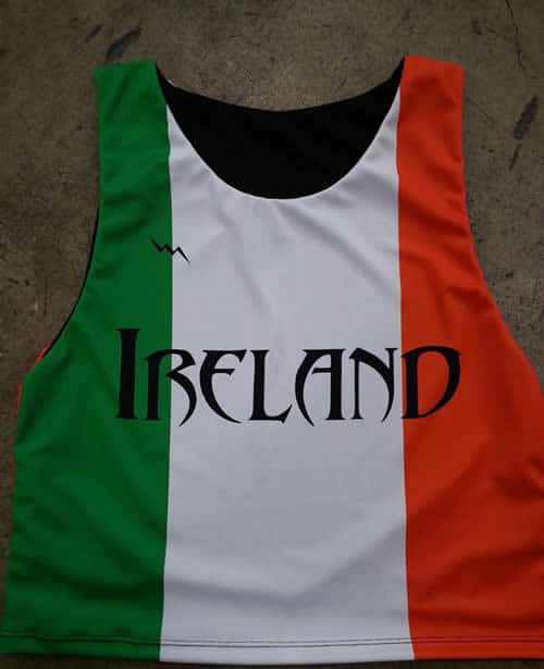 ireland team pinnies
