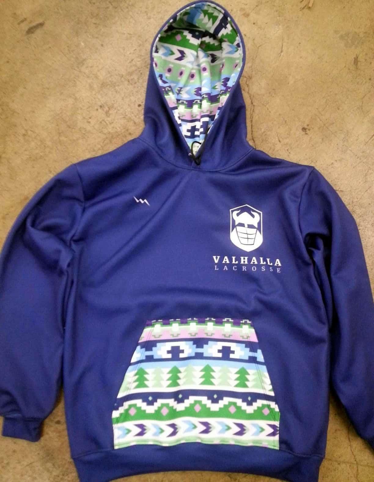 06ab46715 Personalized Hooded Sweatshirts - Custom Lacrosse Hoodie
