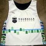 Valhalla Lacrosse Pinnies