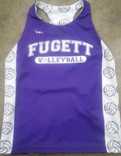 volleyball pinnies - custom fuggett volleyball jerseys