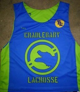 cradlebaby Lacrosse pinnies